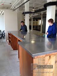 Stainless Top Kitchen Island by Stainless Steel Counter Tops Kitchen Island Bar Boston Ma