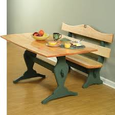 Woodworking Plans Kitchen Nook by Trestle Table And Benches Downloadable Plan