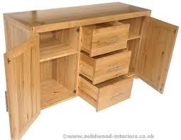 2 Door Oak Sideboard Solid Wood Interiors U003e Solid Oak Large Sideboard