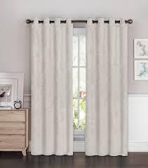 Light Gray Blackout Curtains Bella Luna Blackout Curtain Panel Set Of 2 Light Gray 54 W X 96 L