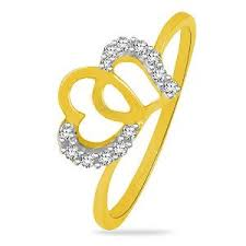 valentines day ring sparkles gold diamond s day ring gold rings homeshop18