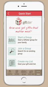christmas wish list maker giftster wish list registry on the app store
