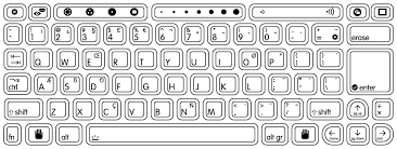 best photos of dell computer keyboard template printable accent