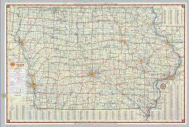 Rap Map Shell Highway Map Of Iowa David Rumsey Historical Map Collection