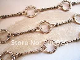 wholesale jewelry necklace chains images Free shipping wholesale fancy antique gold metal chain necklace jpg
