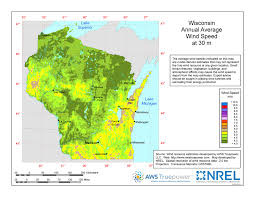 Wisconsin vegetaion images Windexchange wisconsin 30 meter residential scale wind resource map jpg