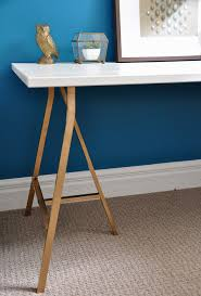 Diy Trestle Desk Pin By Chanda Boucher On Home Office Pinterest Trestle Desk