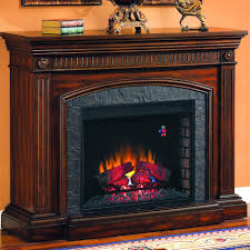 saranac 54 inch electric fireplace roasted cherry 28wm1127