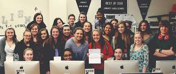 high school yearbook search liberty yearbook selected as national sle yearbook