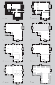 Highclere Castle Floor Plan by Castle Tower House Floor Plans Dunbaird Castle Plan Valine