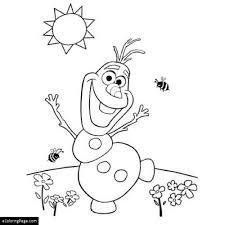 snowman ecoloringpage com printable coloring pages