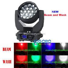 china moving dj lights led zoom beam 4in1 rgbw light 19x15w led