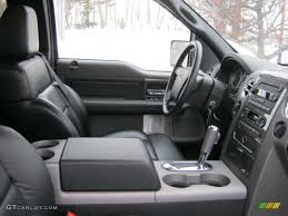 Ford F150 Truck Interior - like the competition from chevrolet and toyota the interior of the