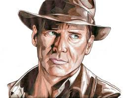 indiana jones clipart drawing pencil and in color indiana jones