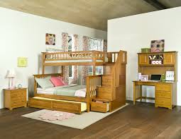 Bunk Bed Trundle Max U Lily Solid Wood Twin Over Twin Bunk - Good quality bunk beds
