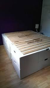 Ikea Platform Bed With Storage Stunning Ikea Platform Bed With Storage Inspirations And Frame
