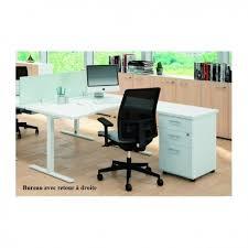 bureau compact bureau compact 90 avec caisson de rangement idea