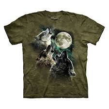3 Wolf Moon Meme - the mountain three wolf moon short sleeve tee ca clothing