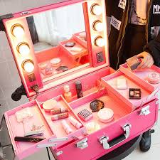 professional makeup lighting portable best 25 makeup trolley ideas on small shopping carts