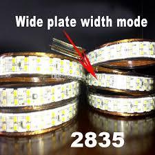ip67 led strip lights high voltage ac 220v smd 2835 led strips lighting double line led