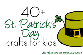 st patrick u0027s day craft ideas for kids