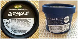 rambles from my makeup box my lush skincare routine herbalism
