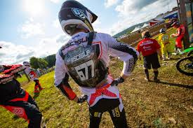 pro motocross racing turning mx pro matt bisceglia and shane mcelrath