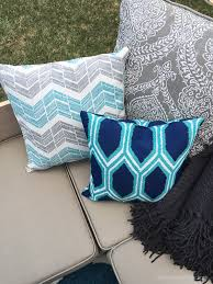 Walmart Sofa Pillows by Remodelaholic Outdoor Sectional Sofa Reveal