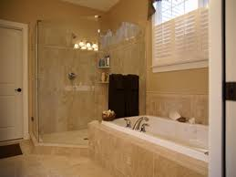 Bathroom Shower Design Pictures Bathroom Simple White Window Shutter Also Tub Combined With Glass