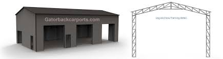 gatorback carports u2013 design metal building