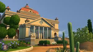 mod the sims villa capra an italian masterpiece no cc