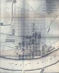 Miami University Map Cincinnati Historical Maps University Of Cincinnati