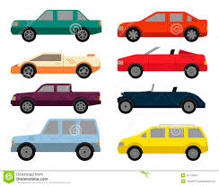 types of cars cars icon set stock vector image 49772854