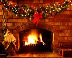 excellent decoration christmas fireplace screen snowman from