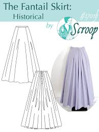 historical pattern review pattern review scroop fantail historical skirt sewing clothes