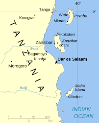 Tanzania Map Spice Islands Tanzania U2022 Mapsof Net
