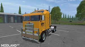 kenworth semi cat kenworth k100 v2 and cat semi trailer v 2 0 pack by eagle355th