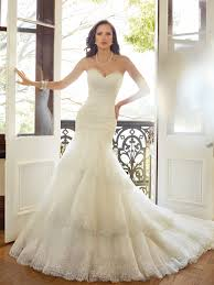 fit and flare wedding dress fit and flare wedding dress with dropped waist
