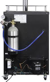 black friday kegerator deals kegco k309ss 2 digital double faucet keg dispensers black double