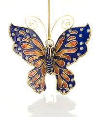 large butterfly ornament