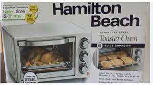 Toaster Oven Settings Hamilton Beach Toaster Oven Broil And Bake Model 31511 Youtube