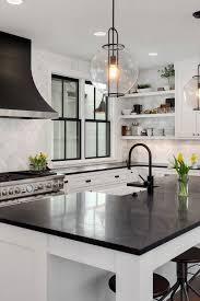 white cabinets with black countertops ideas 50 black countertop backsplash ideas tile designs tips