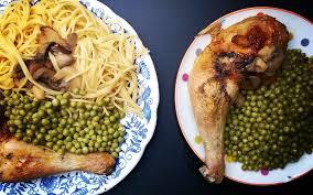 cuisiner des cuisse de poulet recette cuisse de poulet aux chignons économique et simple