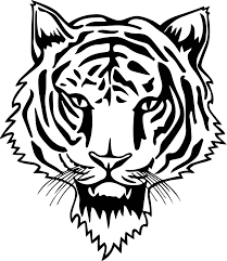 new tiger face coloring page wecoloringpage
