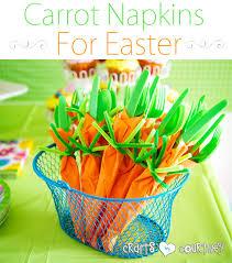 plastic ware easter party idea plasticware carrots