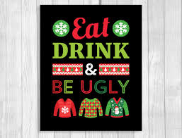 weddings by susan ugly christmas sweater party printable