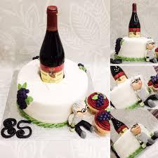 wine bottle cake 85th birthday granda grandad st patty u0027s day