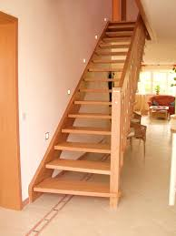 freitragende treppen mit holz 08 treppenbau becker - Treppen Aus Holz