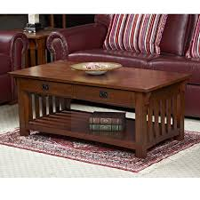 Mission Sofa Table by Shop Leick Mission Impeccable Ash Coffee Table At Lowes Com