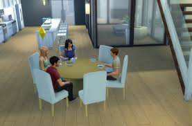 8 Seater Round Glass Dining Table Chair Mod The Sims Modern 6 Seater And 8 Round Dining Table